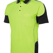 JB's Hi Vis 4602.1 Contrast Piping Polo