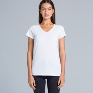 AS Colour BEVEL V-NECK TEE Thumbnail