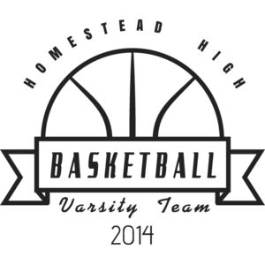 Basketball Template DNT001 BW Thumbnail