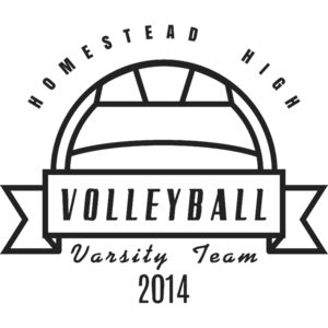 Volleyball Template DNT001 BW Thumbnail