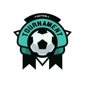 Tournament Football logo template Thumbnail