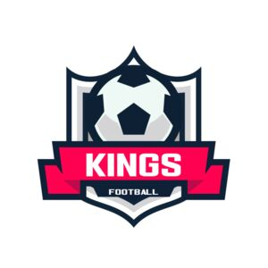 Kings Football logo template Thumbnail