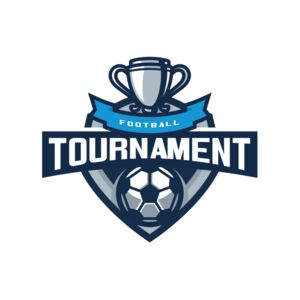Tournament Football logo template 03 Thumbnail
