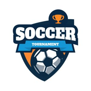 Soccer Tournament league logo template Thumbnail