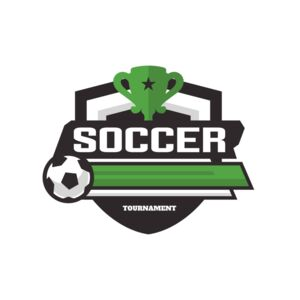 Soccer Tournament logo template 02 Thumbnail