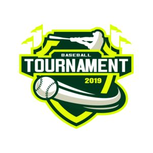 Baseball Tournament logo template Thumbnail