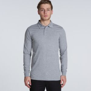 AS Colour CHAD LONGSLEEVE POLO Thumbnail